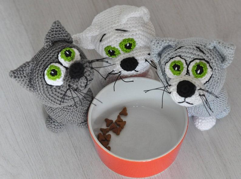 geh\u00e4kelt amigurumi crochet English Katze Vorlage Deutsch German crochet pattern kitten H\u00e4kelanleitung e-Book pdf