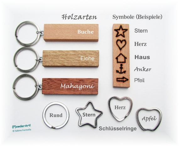 10 Stück Design Schlüsselringe Apfelform Schlüsselring Apfel Apple