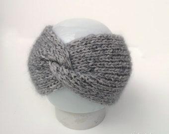 Twist headband, twistband, alpaca