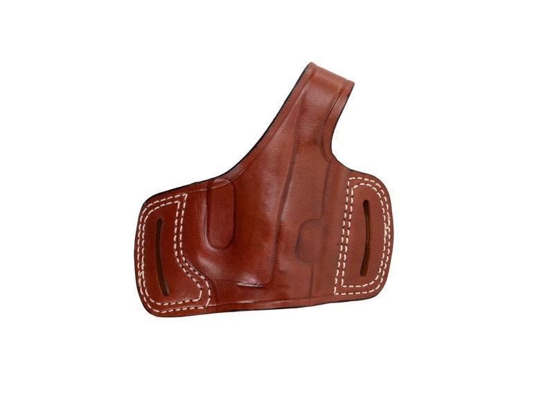 Ruger P85/ P89/ P91 Leather Belt Slide Holster