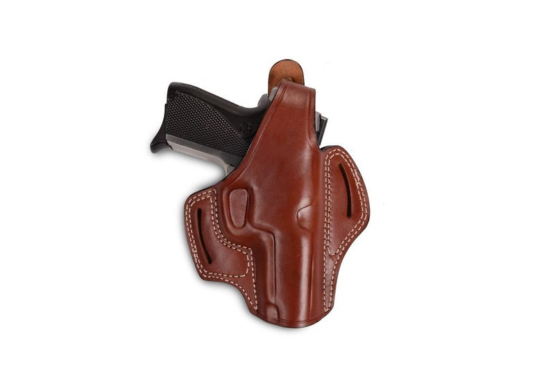 S&W 5906 Leather OWB Holster