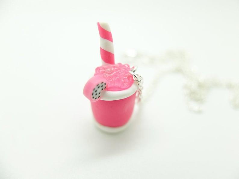Slush Ice cream Charm Necklace
