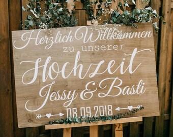 Hochzeit Willkommen Schild Etsy