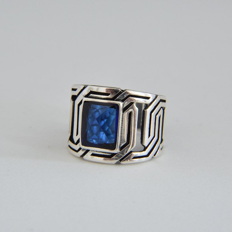 925 Sterling Silver Handmade Men's Ring, Silver Ring, Rings for Men, Gift  for Him, Men's Silver Ring, Handmade Ring, Rings Men, Orientalist