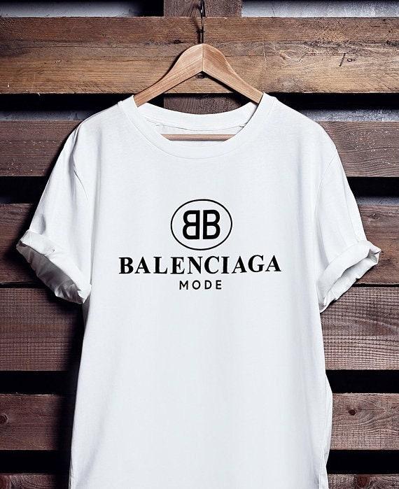 84d11904a3d0 T-shirt de Balenciaga, Balenciaga Mode chemise pour et hommes et pour  femmes,