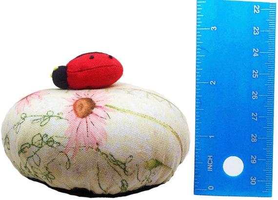 PeavyTailor Emery Pin Cushion 10oz Extra Large Keep Needles Clean and Sharp Needle Storage Organizer Snails Orange