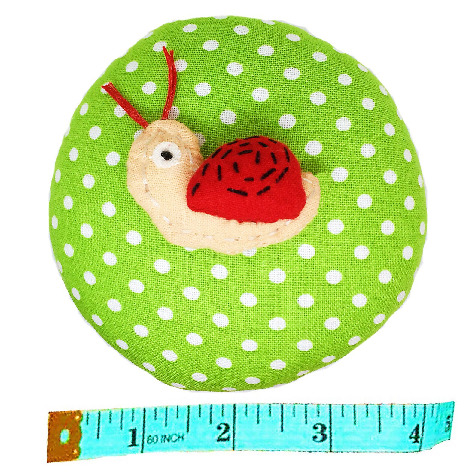 Snails Blue PeavyTailor Emery Pin Cushion 10oz Extra Large Keep Needles Clean and Sharp Needle Storage Organizer