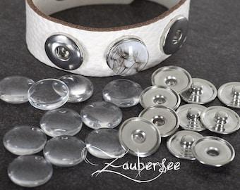 9,5mm rostfrei Set Presse Druckknöpfe Jersey 10,5mm nickelfrei 7,8mm