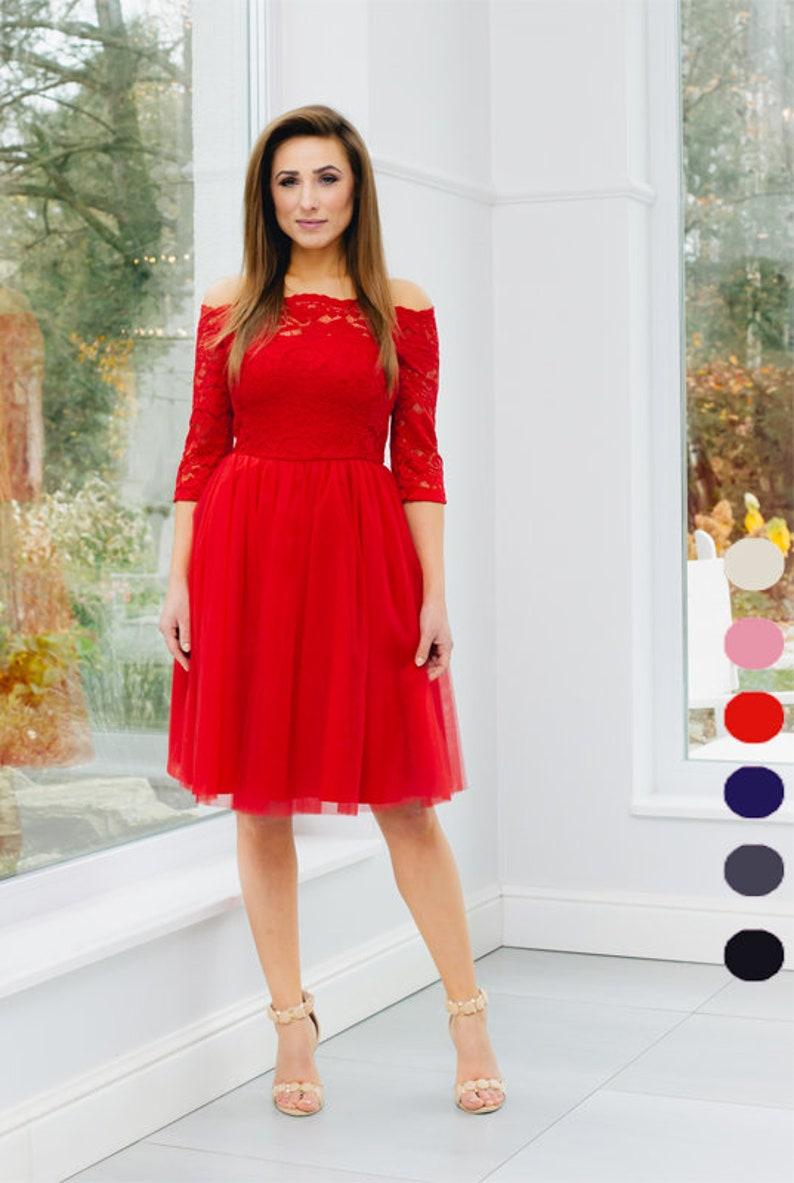 d95b1f707a Sukienka koronkowa sukienka na wesele dekolt odkryte