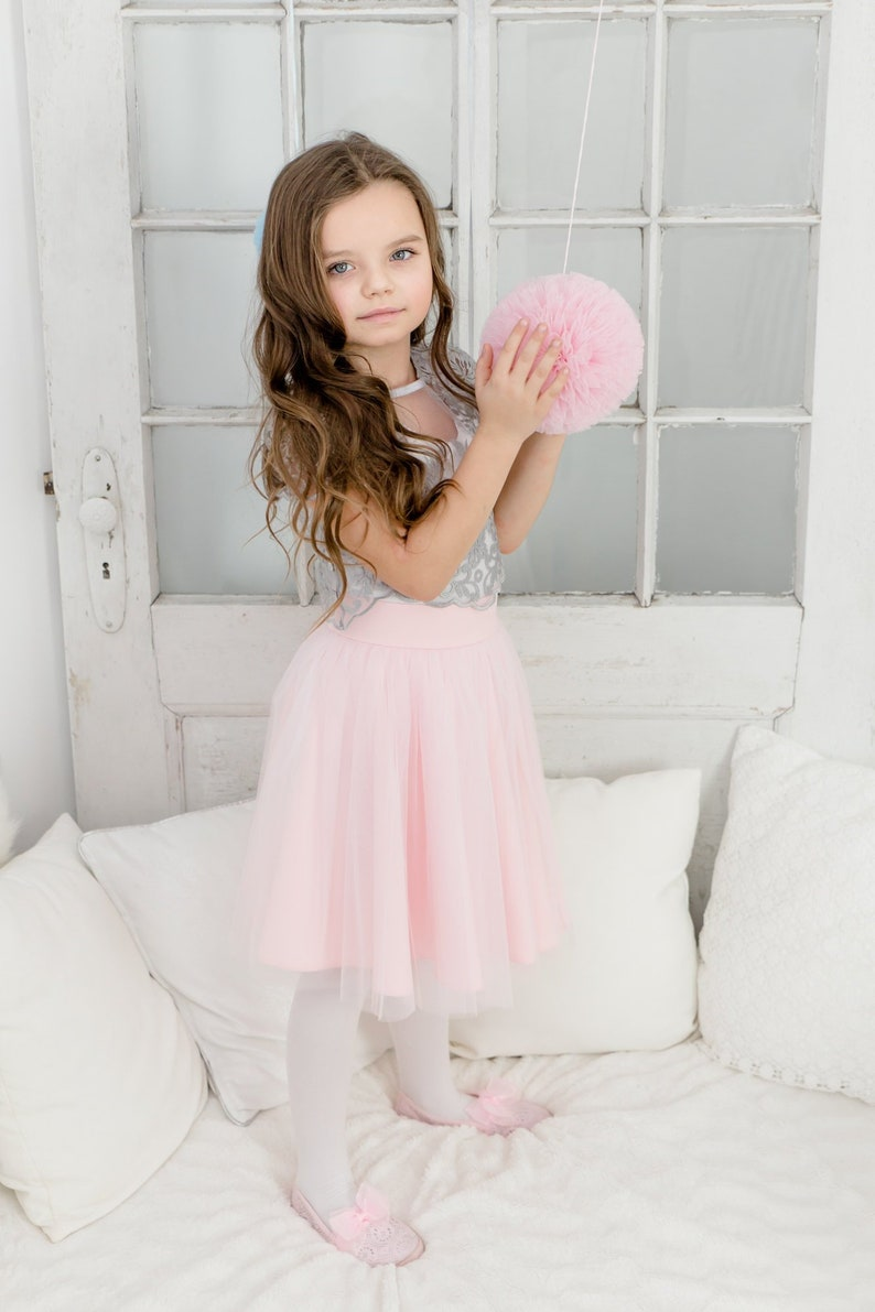 130fe65543 Flower Girl Tulle Lace Dress from Mary Lace Baby Lace Top Cup