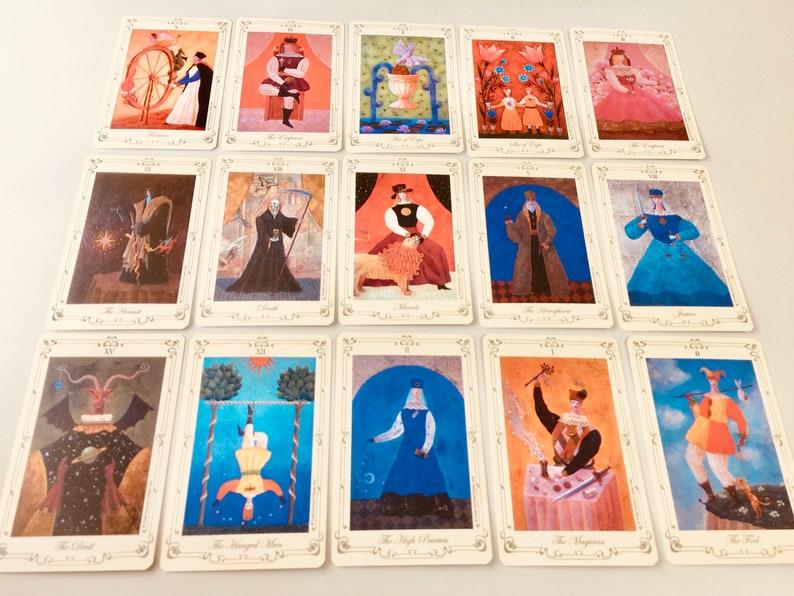 Hard to Find Stella's Tarot Deck AGM Stella Kaoruko Tarot Card Deck Kawaii  Tarot Cards Japanese Tarot Collectible Tarot Reading