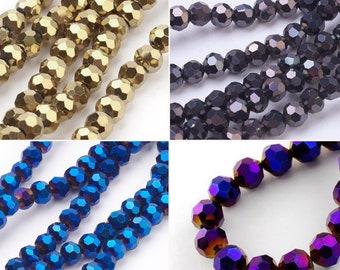 Fädelloch 1mm 6mm Steinperlen Natural Beads ca 60St