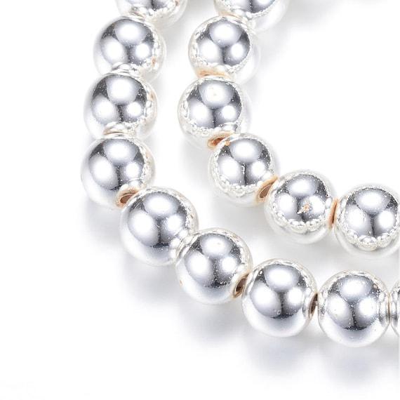 6mm Stern 5mm Kleeblatt 10mm Seepferd TOP Perlen real gold plated 10St