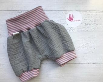 Shorts Muslin/Double Gauze Summer Pants (110/116)