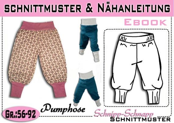Ähnliche Artikel wie Schnittmuster + Anleitung Pumphose GR:56-92 auf ...