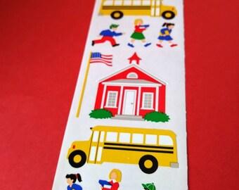 Vintage bus sticker   Etsy