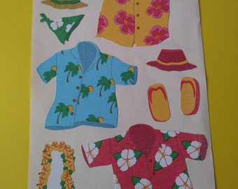 Strip of Boots /& Hats Stickers DISCONTINUED Mrs Grossman COWBOY BOOTS /& HATS