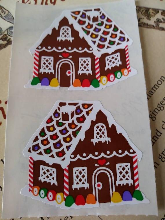 Mrs Grossman GINGERBREAD BOYS Strip Vintage Gingerbread Boys Stickers