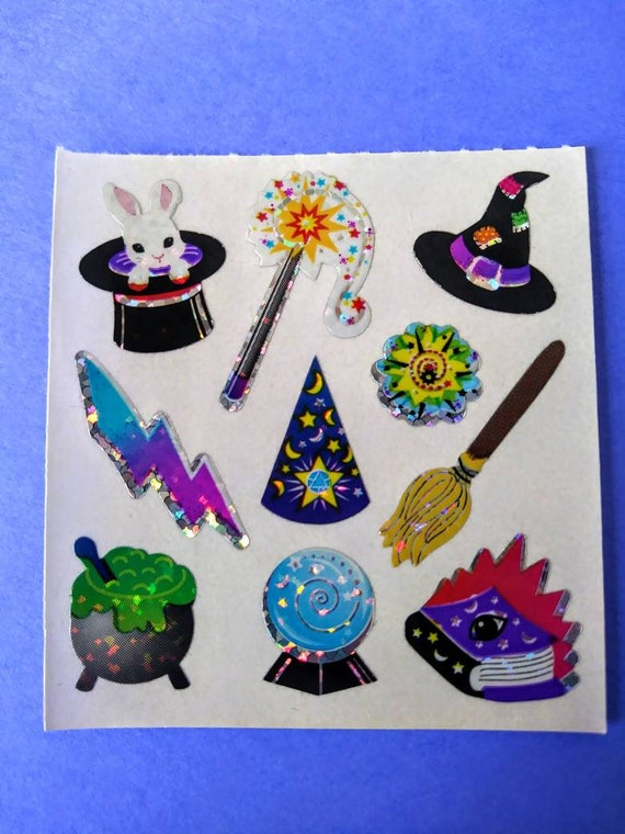 Sandylion Micro Prismatic Clowns Sticker Mod Vintage