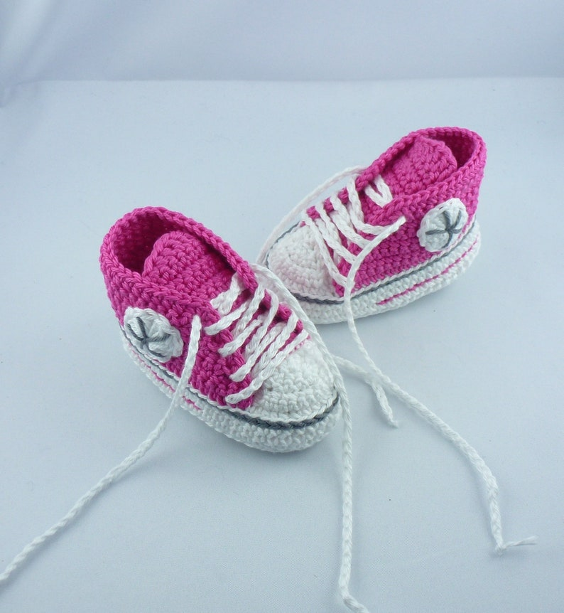 Baby sneakers  Pink Dark Grey 020 image 0