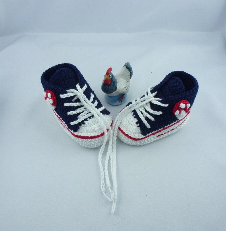 Baby sneakers  Mushroom 011 image 0