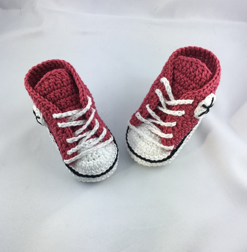 Baby sneakers  Strawberry 002 image 0