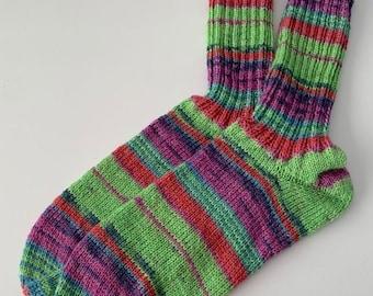 hand-knitted women's socks sizes (172) 38/39