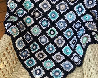 Baby blanket blue (107)