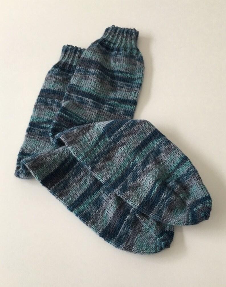 Men's socks in blue 44/45 027 image 0