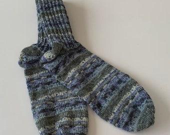 Women's Socks blue grey Gr.40-41 (180 )