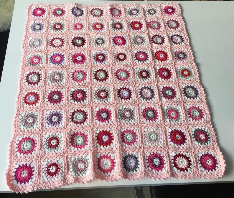 Baby Blanket pink 108 image 0