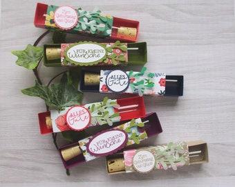 Money gift packaging, test tube
