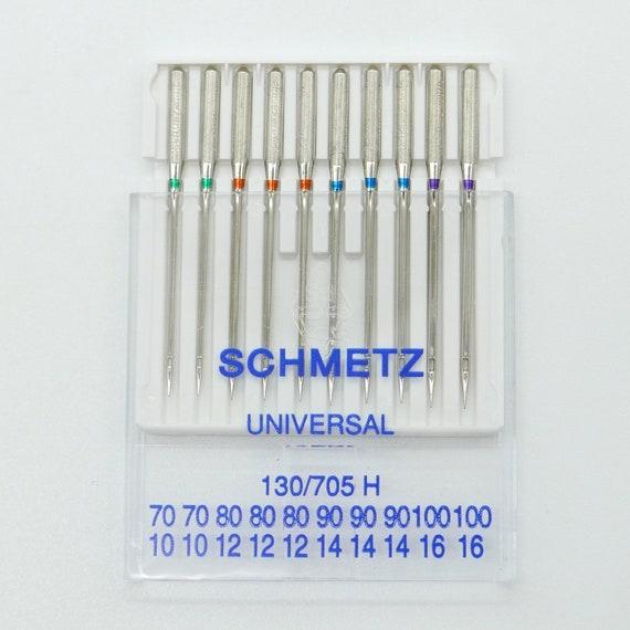 Schmetz Needles Flat Piston Needles for Sewing Machines Thickness 110//18