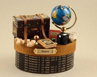 REISEN, Globus blau, Urlaub, Geschäftsreise, Hochzeitsreise