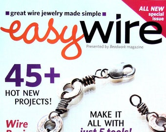2 EASY WIRE Jewelry Magazines January 2010 September