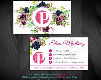 Perfectly posh business cards etsy quick view perfectly posh business cards colourmoves