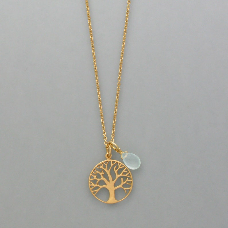 Earrings Tree of Life made of 925 silver-plated silver