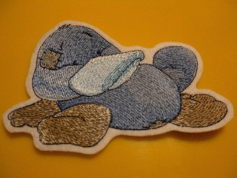Funny Beak Animal---patch application
