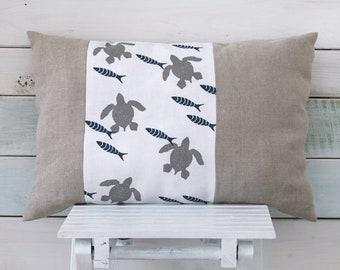 Pillow cover - Caretta fish