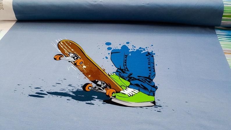b8a7ae163b179 Panel BIO JERSEY Skater Boy Eigenproduktion von Stern Depot