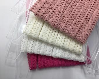 Bobbin lace / crochet braid / 10 mm / 100 % cotton / 4 colours / 2 m (2,00 EUR/meter)