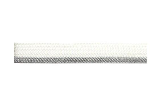 Baumwoll Kordel rund 10 mm schwarz Verkaufseinheit 1m Hoodie