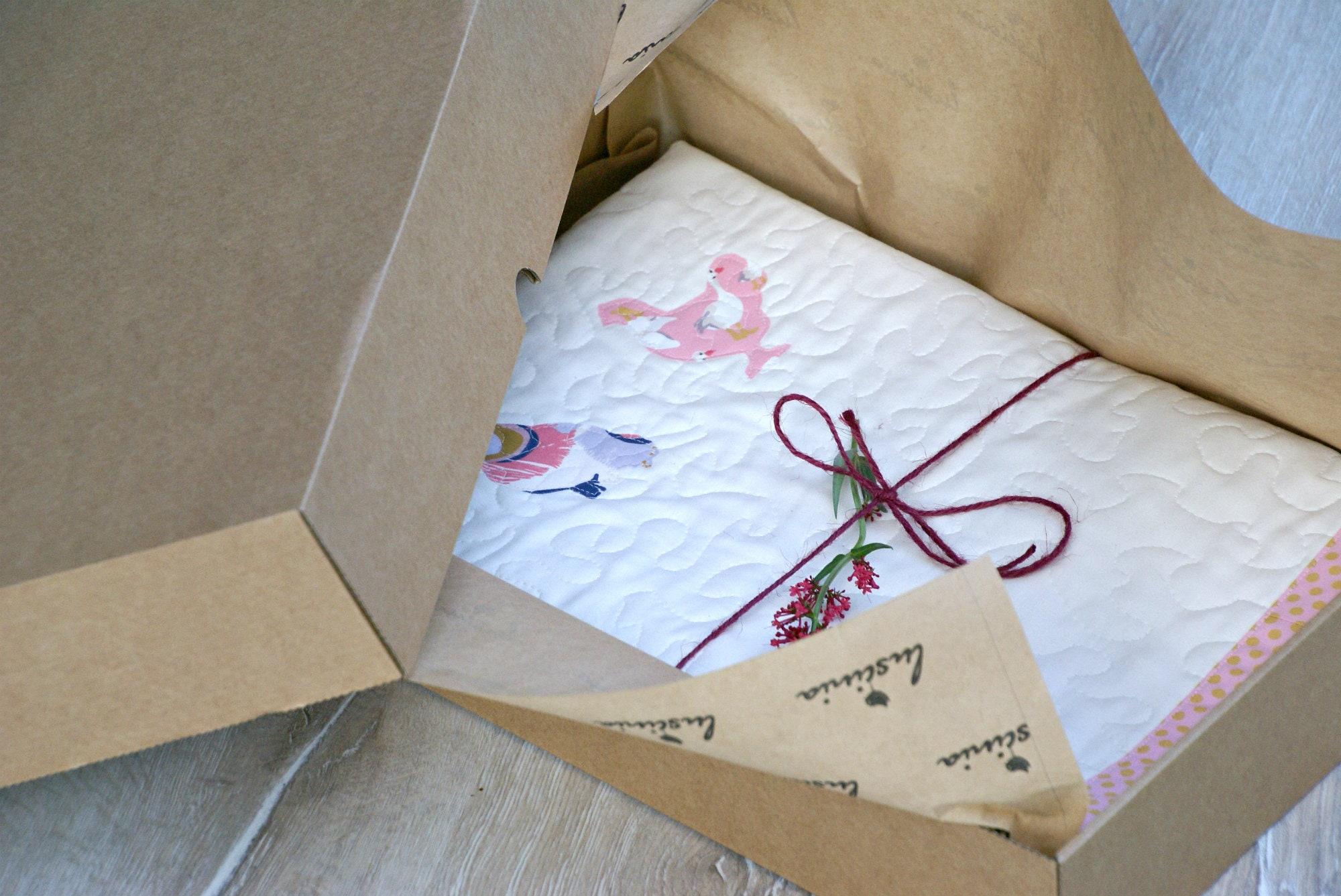 Couverture de bébé / Baby Quilt / couverture de coton / couverture en polaire / cadeau de Shower de bébé / bébé coton Wrap / tapis de jeu bébé en polaire Wrap