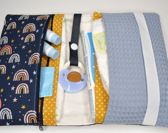 Diaper bag rainbow