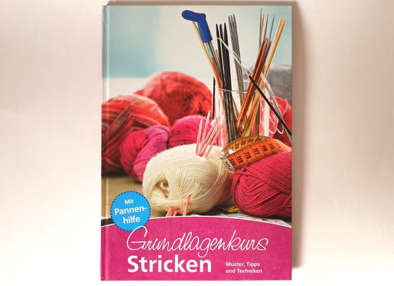 Book Basic Course Knits Patterns, Tips and Techniques Handwork knitting wool instructions