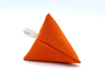 Lavender's sack - pyramid (orange)