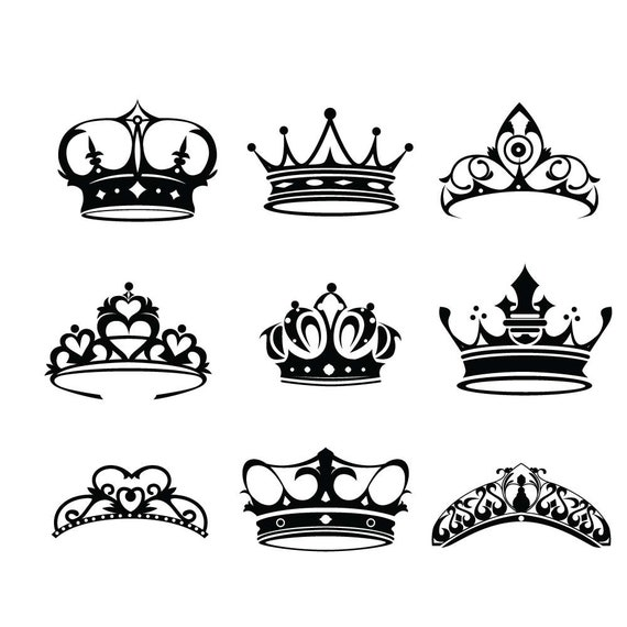 Crown svg file ...
