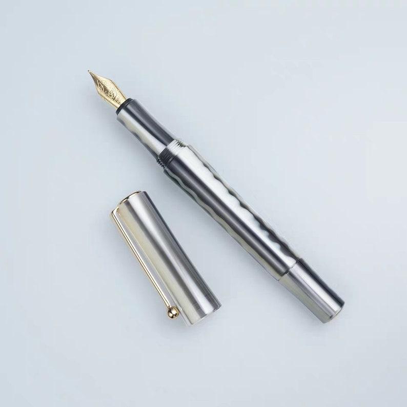 zizai Resin Fountain Pen #5 Schmidt Nib F Nib About 0.5-0.7mm