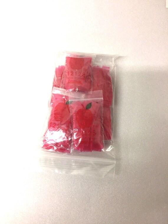 1212S Top Quality 1000 12x12 Skinny 1212S Baggies Black Color Mini Zip Lock Bags