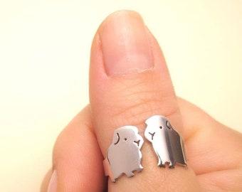 Guinea pig ring in love